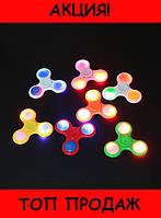Яркий светящийся спиннер Fidget Spinner-Жми Купить!