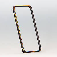 Бампер Golden Glow Black Rim с золотистым узором для iphone 6