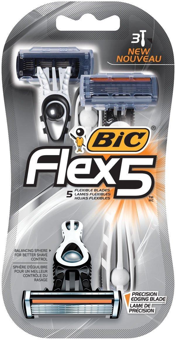 Бритвенные Станки BIC Flex 5 3 шт