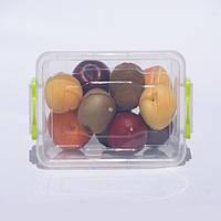 Контейнер для хранения продуктов с зажимами LUX - 1,5л
