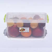 Контейнер для хранения продуктов с зажимами LUX - 5л, фото 1