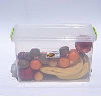 Контейнер для хранения продуктов с зажимами LUX - 23л, фото 1