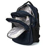 Рюкзак Power In Eavas 2270 c выходом проводов для наушников и USB синий, фото 2