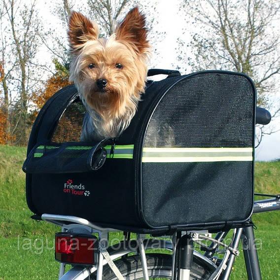 Сумка велосипедная для собак до 8кг/на багажник