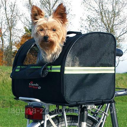 Сумка велосипедная для собак до 8кг/на багажник, фото 2