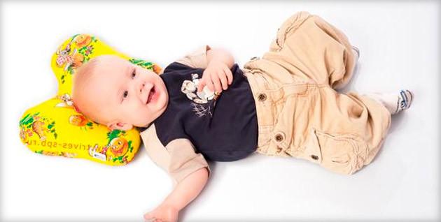 ортопедическая детская подушка бабочка