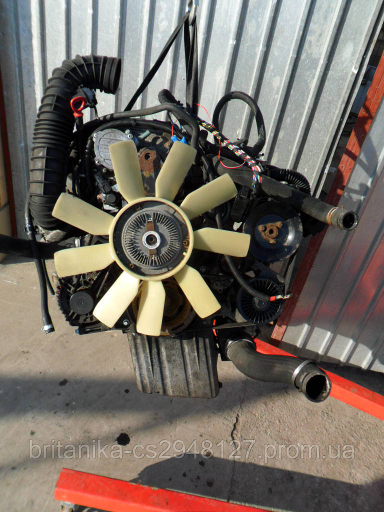 Двигатель в сборе Мерседес Вито 639 OM 646 2.2 CDI бу Vito мотор