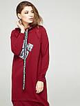 2287 платье Комо, вишня (S), фото 2