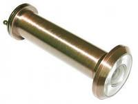 Глазок дверной USK 5102 80*105мм шлифованный никель