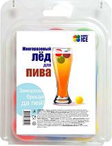 Охладители напитков (многоразовый лед) «Бабл Айс» (блистер), фото 3