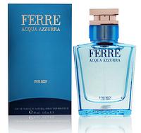 Мужская оригинальная туалетная вода Gianfranco Ferre  Acqua Azzurra for men, 30ml NNR ORGAP /8-61