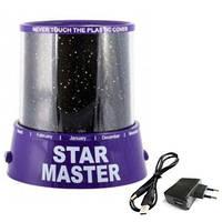 Проектор звездного неба с адаптером Star Master Purple R150271