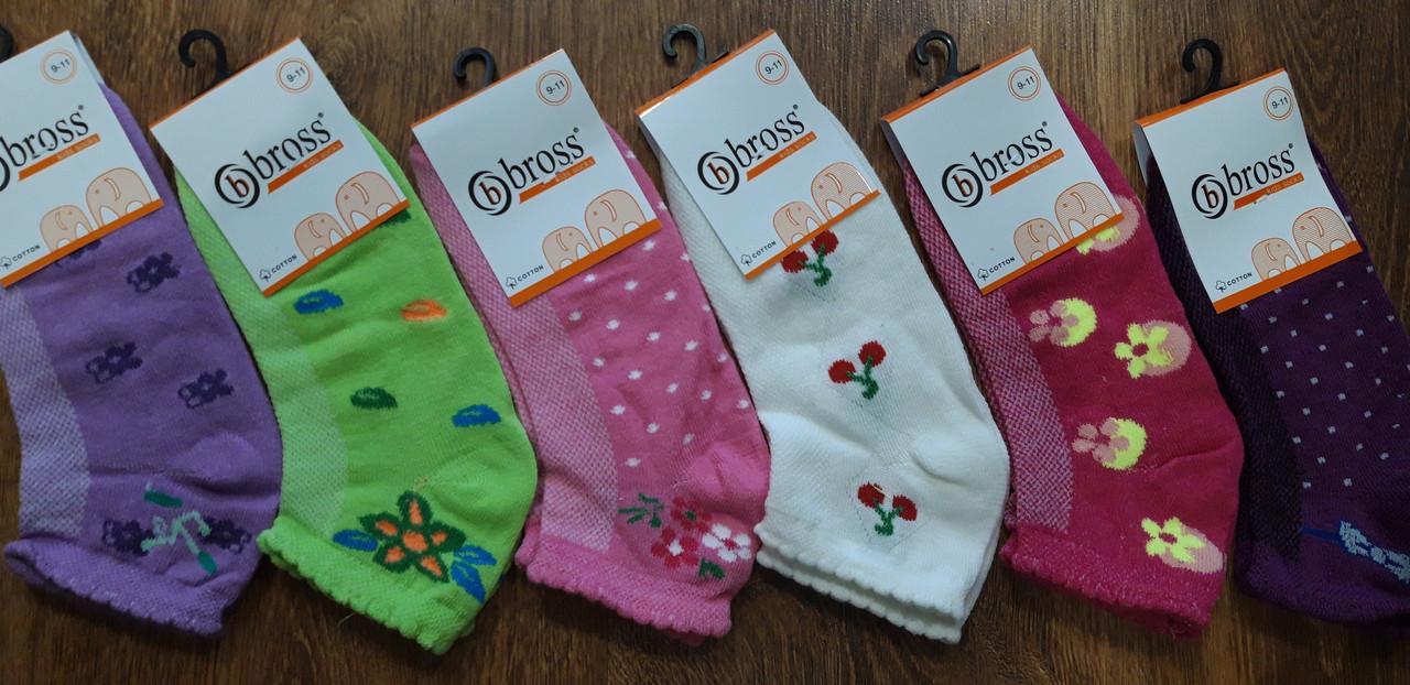 """Дитячі стрейчеві шкарпетки,сітка""""Bbross""""Туреччина асорті"""