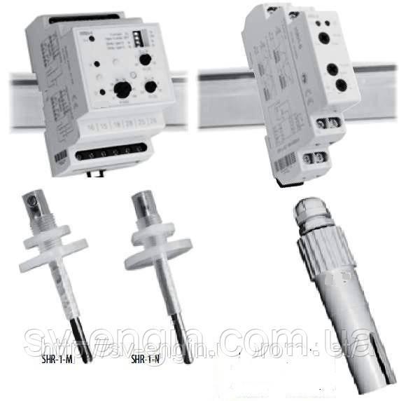 HRH-5/UNI, HRH-8, HRH-4, HRH-6 — контроллеры уровня жидкости.