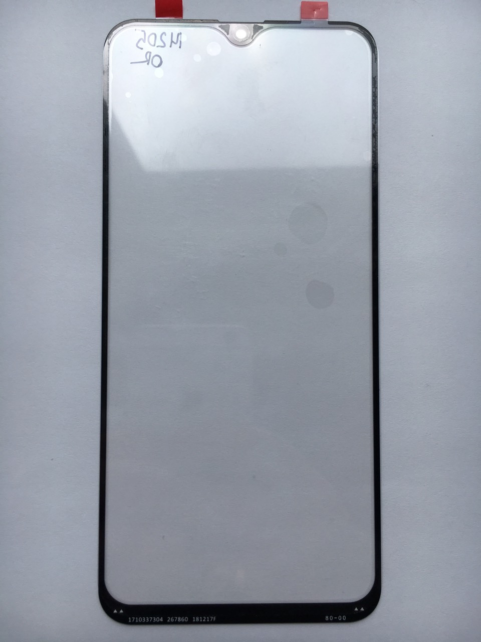 Стекло дисплея для Samsung M205 DS Galaxy M20 черное
