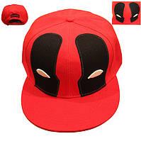 Кепка бейсболка Дэдпул Deadpool Mask SnapbackDP.2