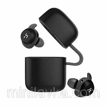 Наушники беспроводные Bluetooth HAVIT G1 (VIDEX G1), black/gray с микрофоном