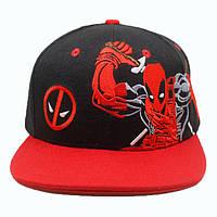 Кепка бейсболка Дэдпул Deadpool с вышивкой DP.3