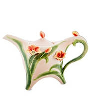 Фарфоровый заварочный чайник Тюльпаны (Pavone) FM- 83/ 1