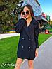 Костюм двойка - пиджак + шорты, креп костюмка, пиджак на подкладке . Размер С,М. Разные цвета. (6535), фото 3