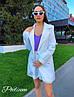 Костюм двойка - пиджак + шорты, креп костюмка, пиджак на подкладке . Размер С,М. Разные цвета. (6535), фото 4