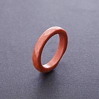 """Кольцо из натурального камня Авантюрин """"золотой песок"""", высота 5мм, размер17-20мм"""