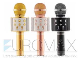 Микрофон караоке (цвета) 50шт WS858
