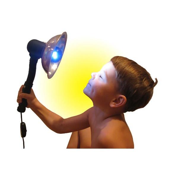 Применение синей лампы. Как греть синей лампой