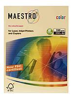 Цветная бумага А3 80 г/м2 BE66 ванильно-бежевый