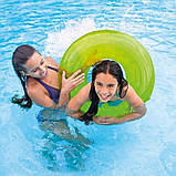 Надувной круг Intex 59262 «Неон», 91 см, розовый, оранжевый, зеленый, фото 6