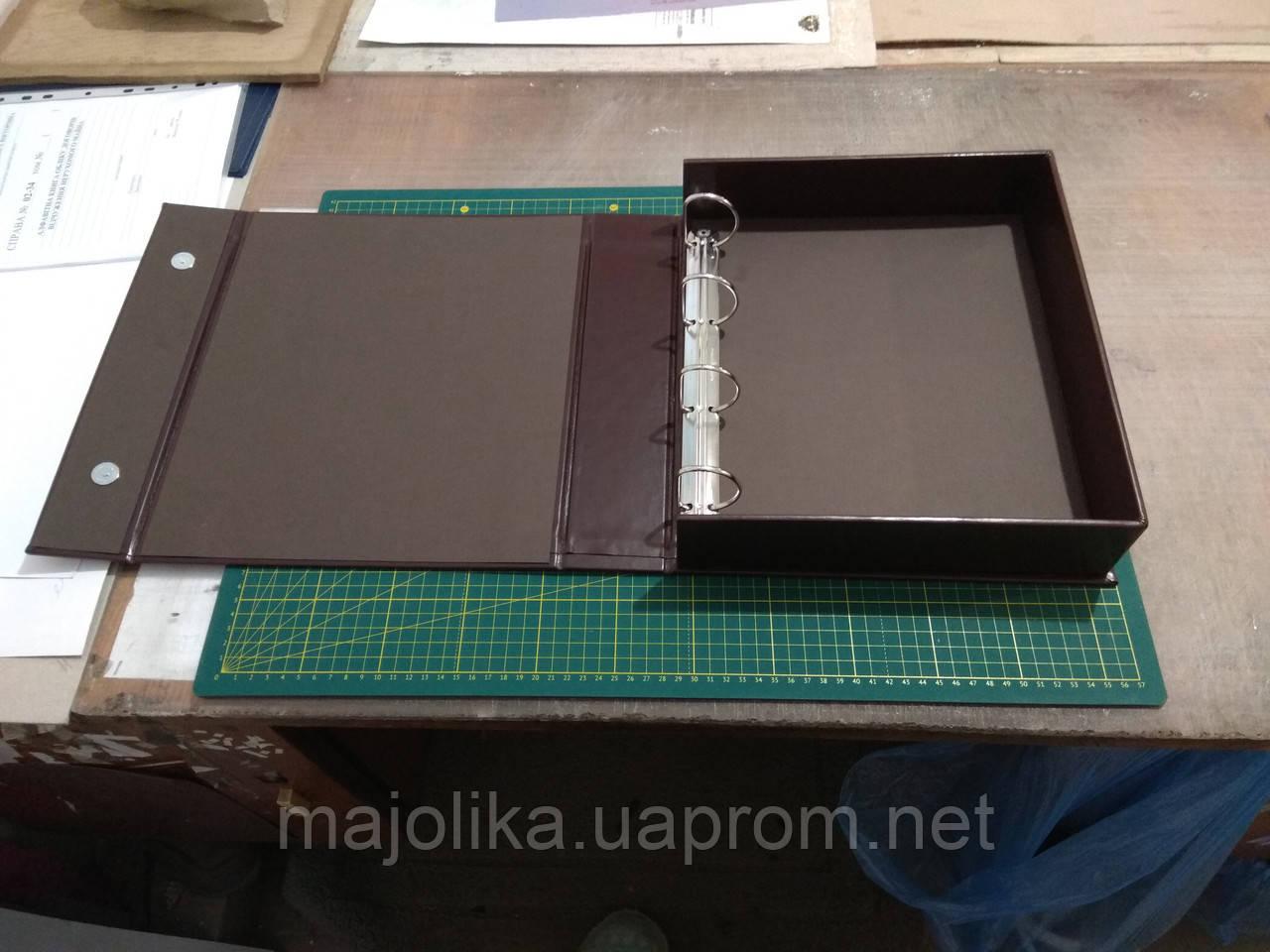 Виготовлення каталожної папки під замовлення.