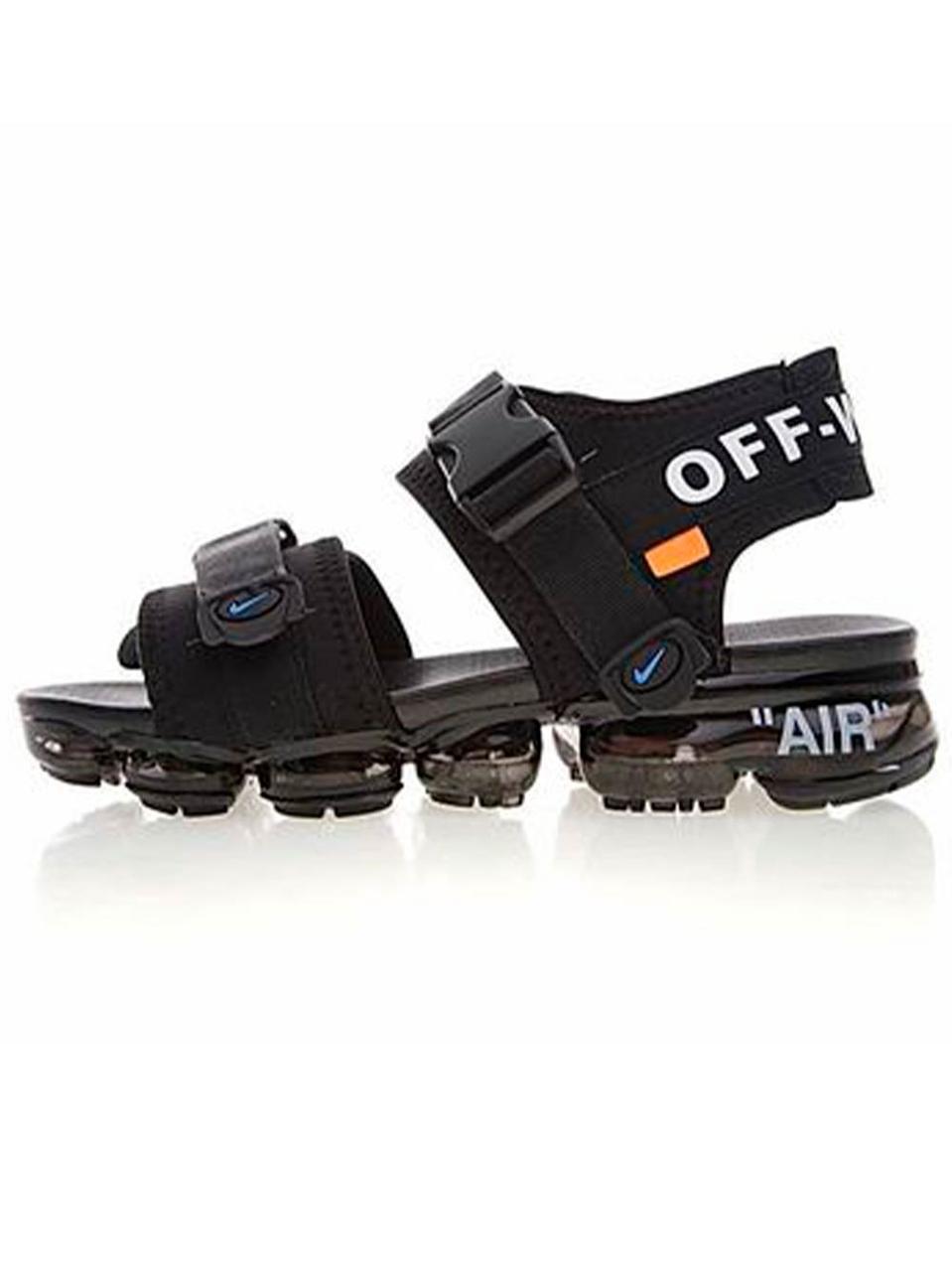 d70c117e0dce Мужские сандалии Nike Air Vapormax Sandals x Off White x Black