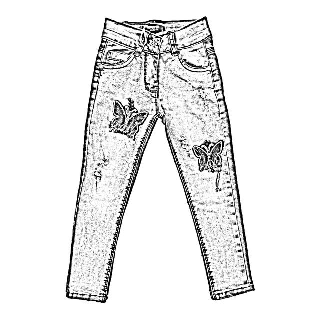 Джинсовая детская одежда оптом