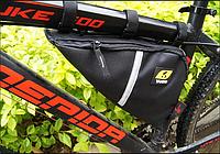 Велосипедная сумка под раму Yanho триугольник 35 на 8 на 21 см  Водостойкая