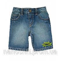 Crazy8, шорты джинсовые для мальчика Лягушки