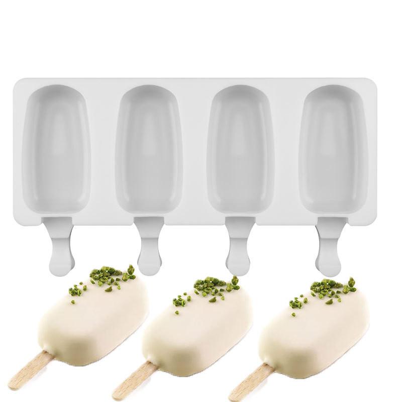 Силиконовая форма для евродесертов Эскимо, мороженное