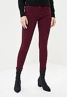 Женские  джинсы цвета марсала, фото 1