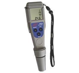 Влагозащищённый кондуктометр ADWA AD33 EC: от 0 до 1999 μS/cm; T: от 0.0 до 60.0 °C АТС Венгрия (PR1324)