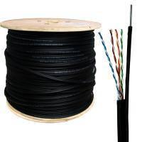 Кабель витая пара,интернет кабель,UTP cat 5E 4х2х0,5 CCA PVC 305м