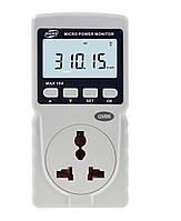 Измеритель параметров потребления электроэнергии BENETECH GM86 до 10А (PR1350)