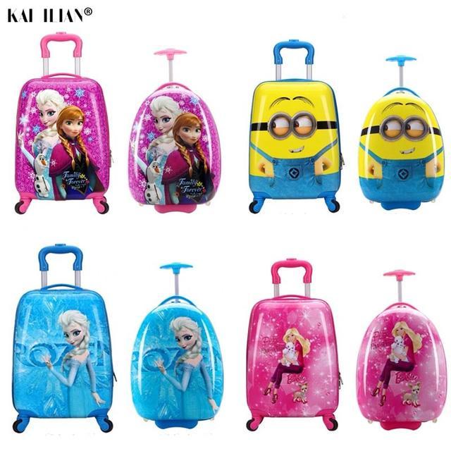 Детские сумки и чемоданы на колесах