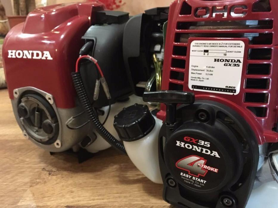 внешний вид двигатель honda gx35