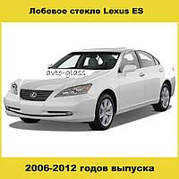 Лобовое стекло Lexus ES350 (2006-2012) c местом под датчик дождя/света