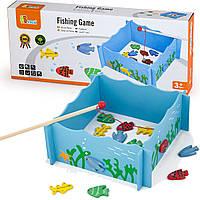 Игровой набор рыбалка магнитный Viga Toys (56305)