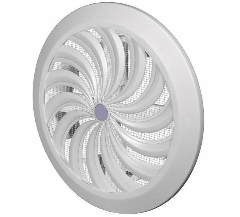 Решетка круглая СФ 100 с жалюзи