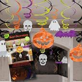 Спираль фольга Хэллоуин 30 шт 1501-2404