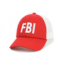 Кепка- бейсболка с сеткой FBI, фото 1