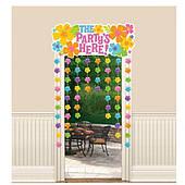 Украшение на дверь Цветы Гибискус 1501-4217