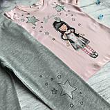 Літній костюм на дівчинку Breeze 77. Розмір 92, 98 см, 104 см, 110 см, 116 см, фото 2