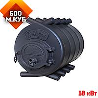 Печь Булерьян Bullerjan Вит Тип-02, 18 кВт-500 м3. Чугунная дверца